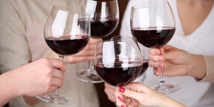 Večerní romance ve vinném sklípku: degustace výtečných vín a večeře pro dva