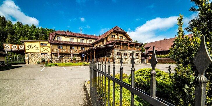 Rodinná dovolená s wellness a polopenzí v Západních Tatrách v Hotelu Gobor ***