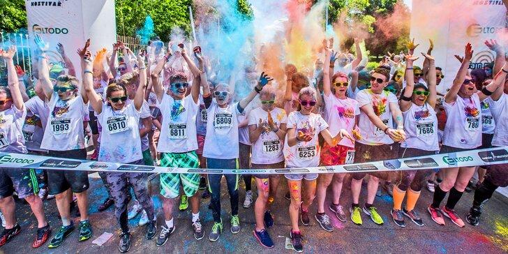 Barvám Neutečeš: běh plný barev nyní také s novým startovacím časem