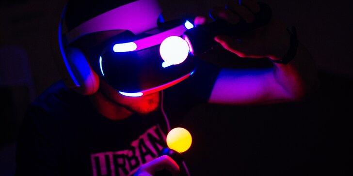 Na skok do jiného světa: 1 nebo 2 hodiny plné zážitků ve virtuální realitě