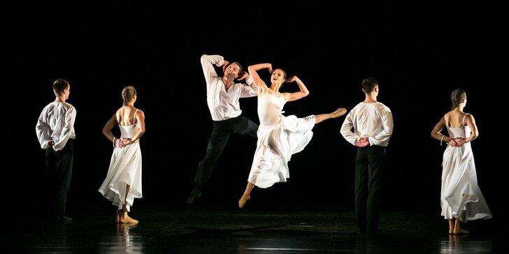 Vstupenka na baletní představení 3 české kvartety