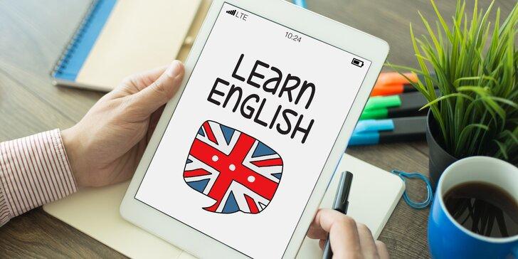 Prémiový on-line kurz angličtiny s mezinárodním certifikátem