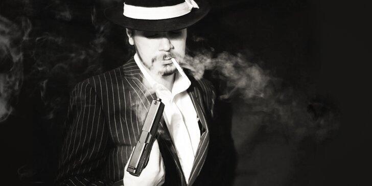 Staňte se součástí mafiánské famílie: hodinová únikovka pro 2 až 5 hráčů