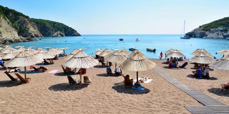 Dovolená pro 4 osoby v novém luxusním apartmánu v letovisku Čanj v Černé Hoře