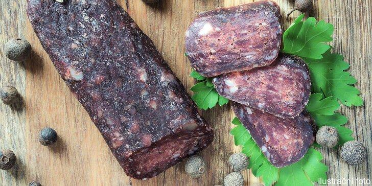 Ochutnejte sudžuk - sušenou hovězí klobásu podle tradiční arménské receptury