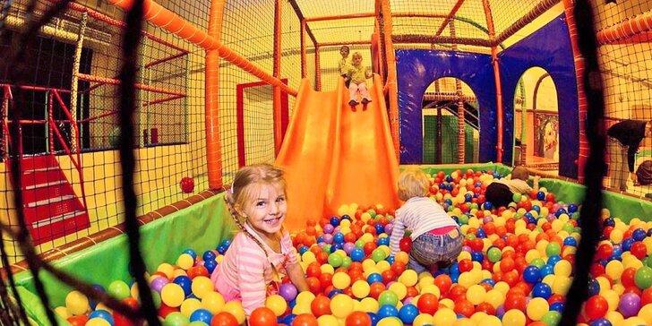 Nechte děti řádit od rána do večera: celodenní vstup do herny Brumbambule
