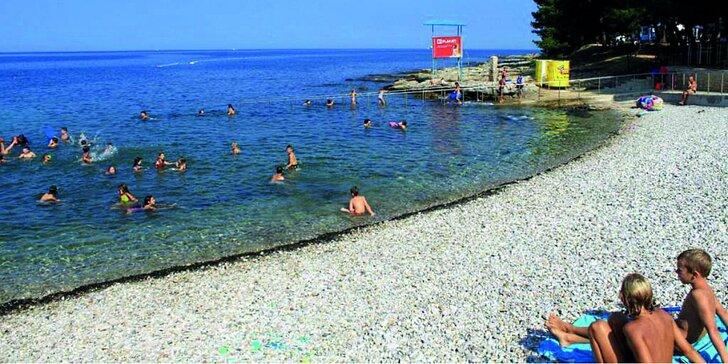 O víkendu na skok k moři na typické istrijské pláže v chorvatském Umagu