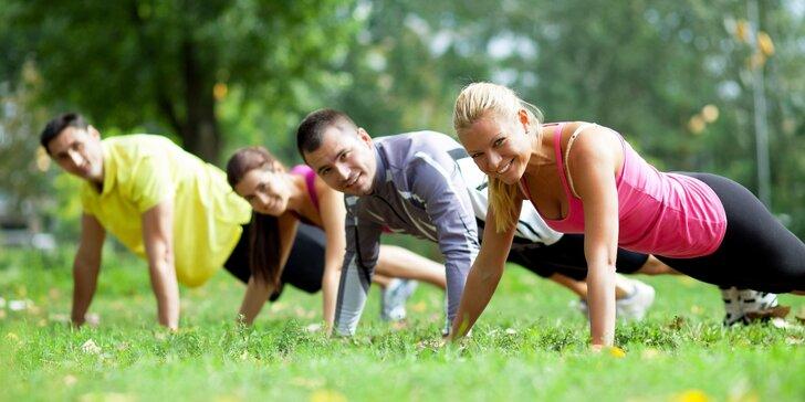 Venkovní kruhové tréninky s trenérem olympijských sportovců