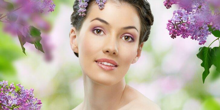 Ošetření pleti německou kosmetikou Alcina: čištění, barvení obočí i řas a masáž