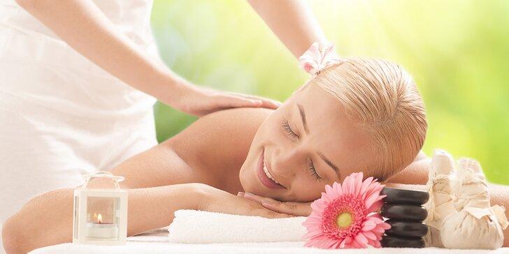 Hodinová masáž podle vašeho přání: sportovní, relaxační, lymfatická, ABS i baňky