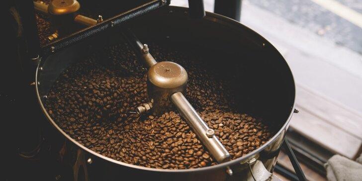 Kávová magie: Zážitkový workshop o pražení s ochutnávkou 5 druhů káv