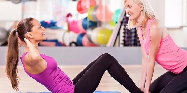 Hubnoucí plán na míru + 10 tréninkových lekcí s fitness trenérem