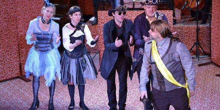 Vstupenka na divadelní předsatavení Figaro, lazebník sevillský