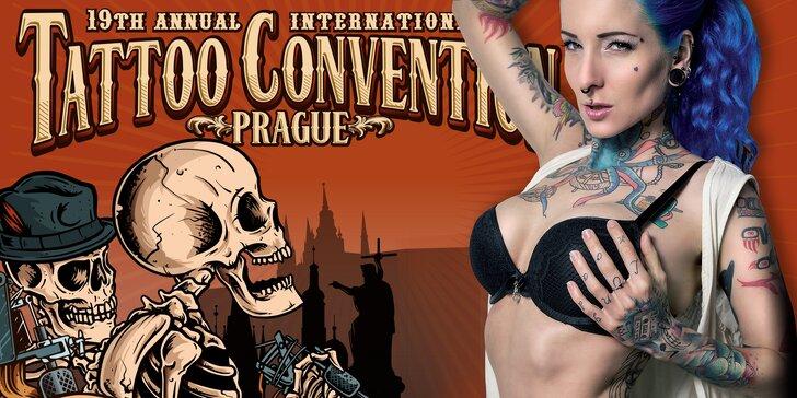 Vstupenka na mezinárodní tatérský festival Tattoo Convention 2017