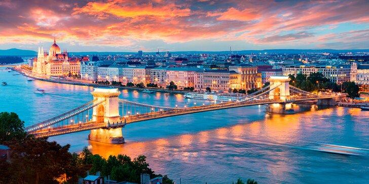 Ve dvou do víru města: 3 nebo 4 dny v přepychovém hotelu v srdci Budapešti