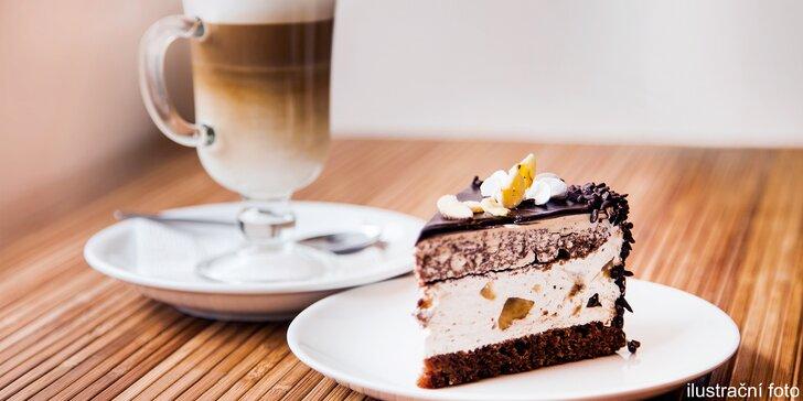 Promlsejte se ke zdraví: Voňavá káva a raw dezert dle výběru v Živé Zahradě