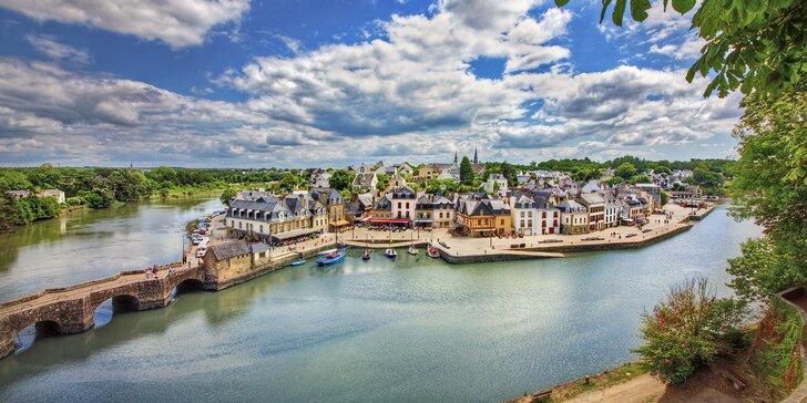 Přírodní i historické krásy Bretaně: srpnový zájezd s dopravou a snídaněmi