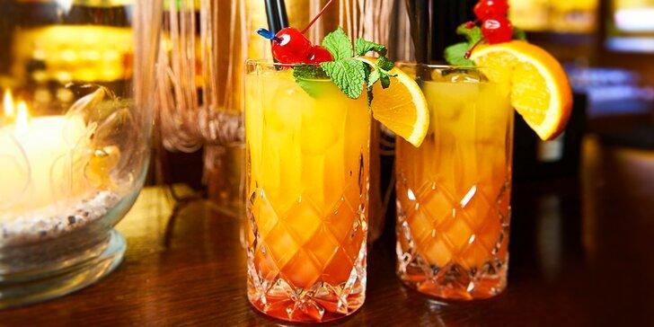 Jeden nebo dva koktejly v romantickém music clubu: výběr z 25 drinků