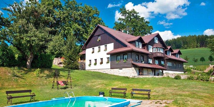 Aktivní dovolená v Krkonoších s domácí polopenzí, wellness i sportovním vyžitím