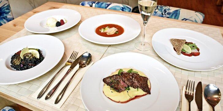 Gurmáni, pozor: 5chodové jarní degustační menu v rodinném bistru pro 2 osoby