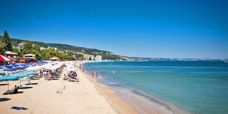K moři do Bulharska: All inclusive dovolená na Zlatých píscích včetně dopravy