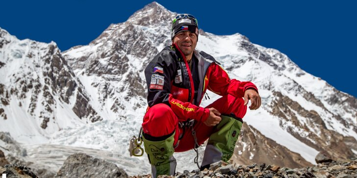 Vyprávění horolezce Radka Jaroše o tom, jak zdolal všechny osmitisícovky a Sibiř