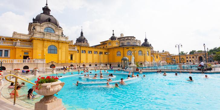 Celodenní autobusový zájezd do Budapešti a relaxace v termálech