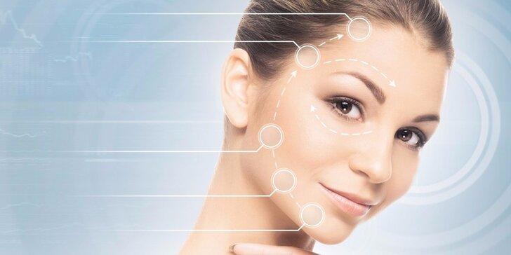 Ultrazvukové ošetření pleti včetně masáže obličeje a masky