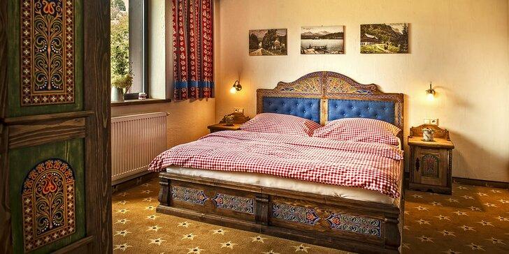Kouzelná dovolená v Belianských Tatrách: rustikální hotel, polopenze i wellness