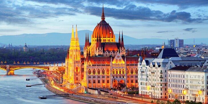 Budapešť: hotel přímo v centru, snídaně a ubytování pro 2 děti do 12 let zdarma