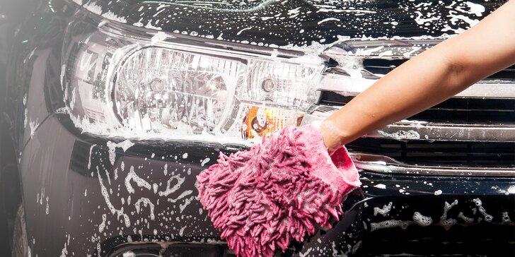 Ruční mytí vozidla: klasická, komfortní či deluxe péče o interiér i exteriér