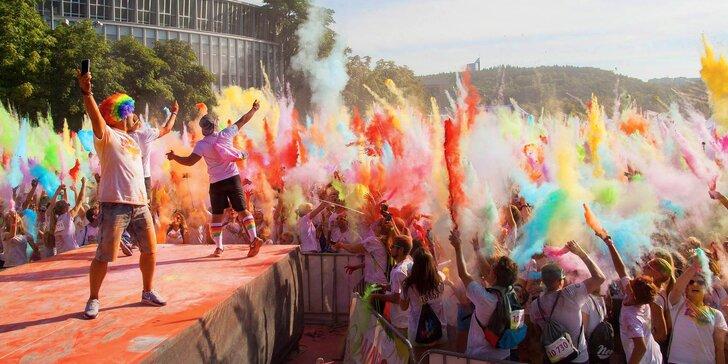 Ostravo, protáhni kostru a oslav jaro barevným během na festivalu Rainbow Run
