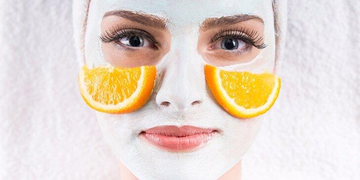"""Dopřejte si luxusní kosmetické ošetření """"Pomerančové osvěžení"""""""