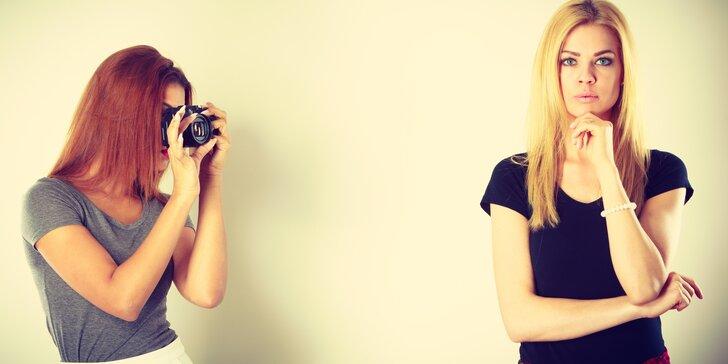 Zábavné fotografické workshopy v profesionálním ateliéru až pro 6 osob