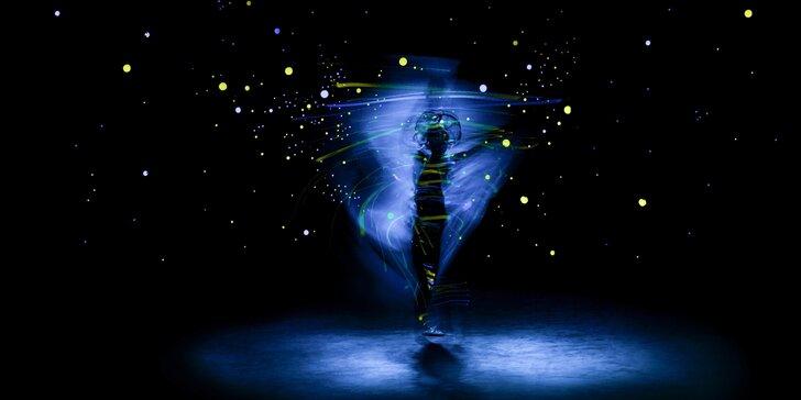 Magická tma: květnová představení unikátního černého Divadla Image