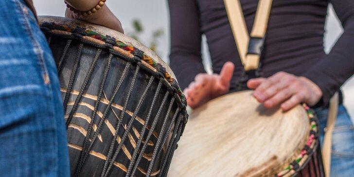 Kurz kreativního bubnování na africké bubny djembe