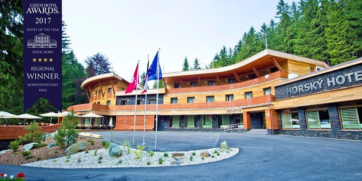 Tak vypadá pohádka: wellness a bohatá polopenze v beskydském hotelu Čeladenka