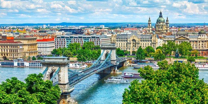 Vzhůru za památkami i do lázní: 3 až 5 dní v Budapešti včetně snídaní pro dva