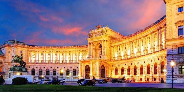 Poznávejte Vídeň ve dvou: 2 až 4 dny poblíž zámku Schönbrunnu včetně snídaní
