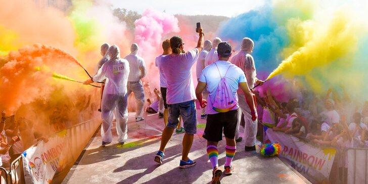 Registrace na barevný běh Spokey Rainbow Run s doprovodným programem