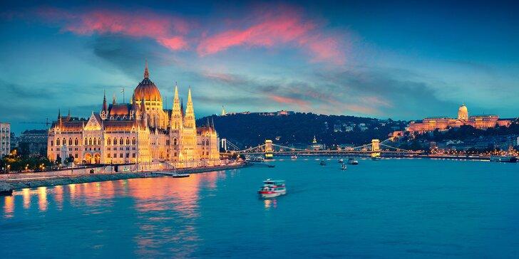 Na pár dní do Budapešti: pobyt se snídaní v jednom ze tří hotelů v centru města