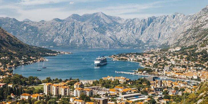 Relaxační dovolená v Černé Hoře: ubytování u pláže s léčivým bahnem a polopenze