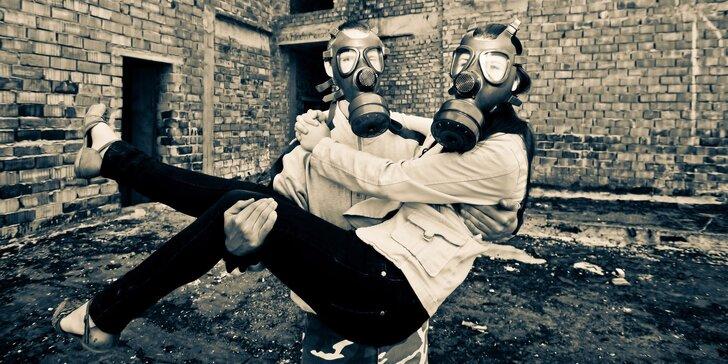 Nukleární bunkr – napínavá úniková hra pro tým 2–6 špiónů