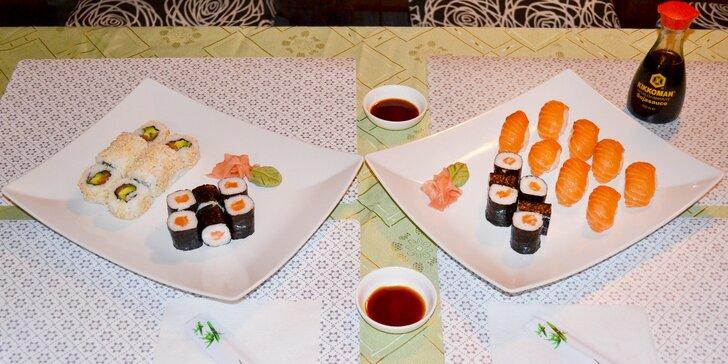 Objevte Asii na pražském Žižkově: Výtečné sushi sety, vegetariánské i s rybou