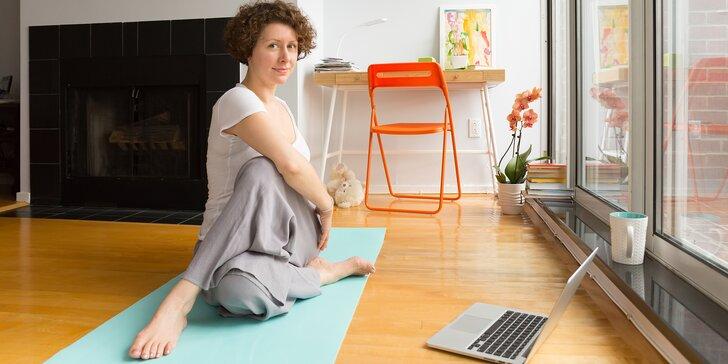Od začátku správně: 11týdenní online kurz power jógy s neomezeným přístupem