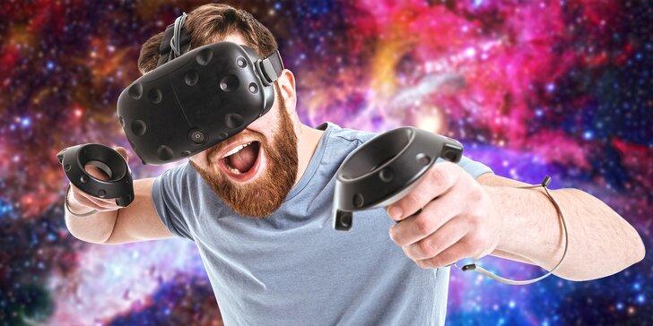 Hodina ve virtuální realitě pro dva: nasaďte brýle a pojďte pařit i objevovat