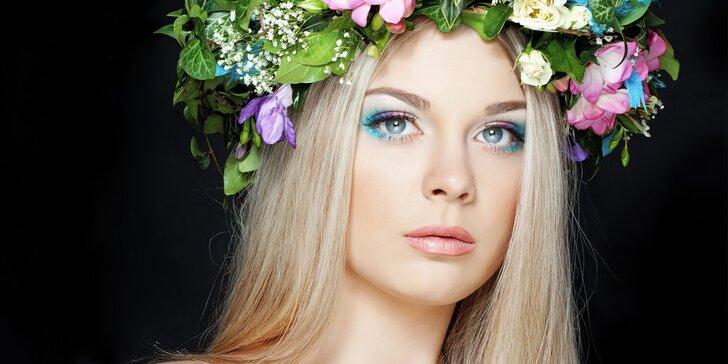Kosmetická péče pro pleť jako z časopisu: ultrazvukové čištění, masáž i maska