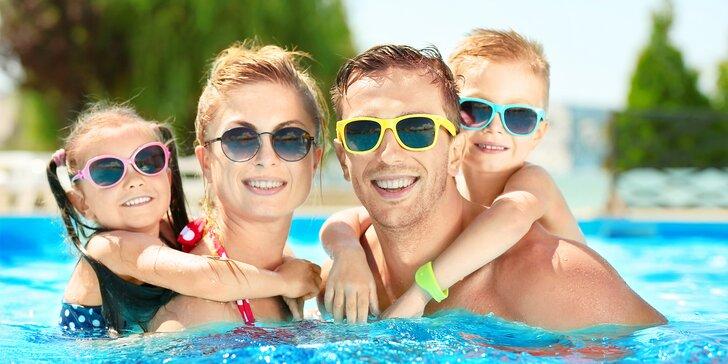 Plavání i dovádění ve vyškovském aquaparku: 120 minut pro děti i dospělé