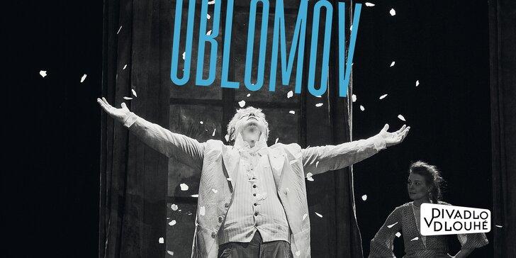Vstupenka na divadelní představení Oblomov