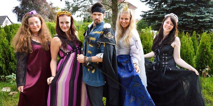 Navštivte s dětmi pohádkovou říši Fábula a prožijte den mezi princi a princeznami